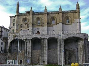 Parroquia de Santa María en Ondarroa