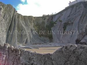 Desprendimientos en la Playa de Itzurun