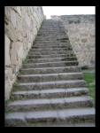 Escaleras Hacia La Muralla