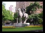 Estatua Hernán Cortés Cercana al Parque