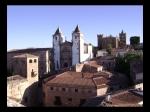 Palacio de los Golfines de Abajo, Iglesia de la Preciosa Sangre, Torre de las Cigüeñas, Iglesia de San Mateo y Torre de Sande