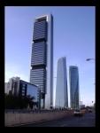 Torre Caja Madrid, Torre de Cristal y Torre Espacio