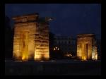 Templo de Debod al Anochecer