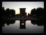 Templo de Debod al Atardecer