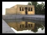 Templo de Debod y su reflejo