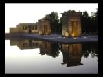 Reflejo del Templo de Debod