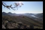 Presa Cancho del Fresno desde la Sierra de la Madrastra