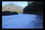 Camino del pantano helado