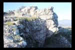 Muralla derrumbada del Castillo