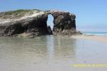Arco en la Playa de las Catedrales