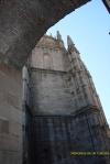 La Catedral Nueva a través del arco