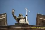 Estatua en el Santuario de la Peregrina