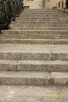 Escaleras de subida al Convento de San Francisco