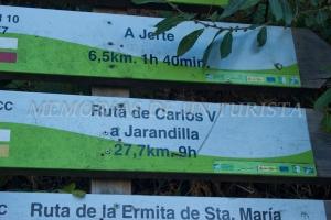 27,7 km para Jarandilla