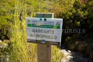 Cartel Garganta del Hornillo