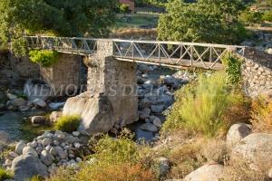 Puente de palo en Jarandilla