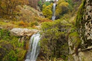 Saltos de agua en la Chorrera de Hervás