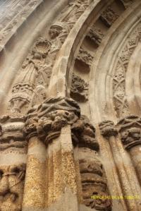 Detalles del arco de la puerta