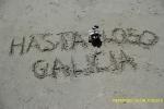 Despidiéndose de Galicia