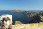 En las Islas Cíes