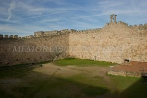 Interior del Castillo de Trujillo