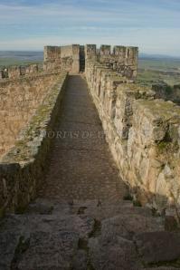 Muralla del Castillo de Trujillo