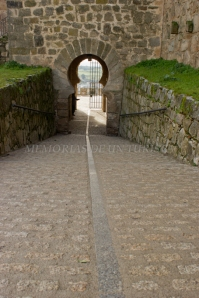 Salida del Castillo de Trujillo