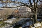 Campo nevado en La Garganta