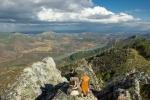 En lo alto de la Sierra de Los Castillejos, Cañamero