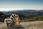 Mery y Pepe desde el Pico La Villuerca