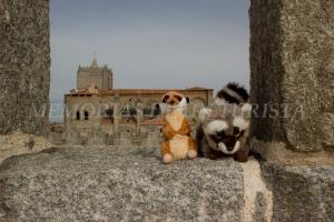 Mery y Pepe en la muralla