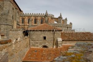 Catedral de Ávila desde la muralla