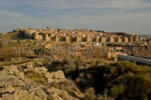 Ávila desde el Mirador del Humilladero