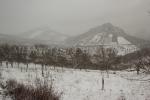 Campo cubierto de nieve