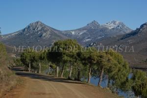 Nieve en La Villuerca
