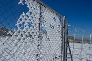 Puerta nevada