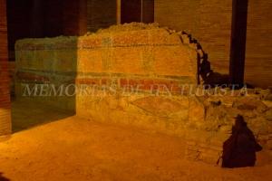 Restos de casa romana