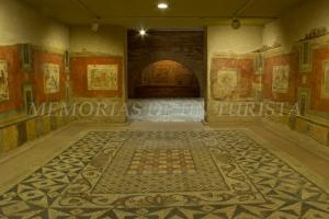 Recreación de casa romana