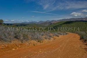 Vistas bajando hacia el Cerro Perdiguero
