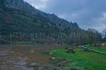 Río Ruecas por debajo del viejo molino