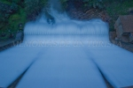 Presa Cancho del Fresno rebosando agua
