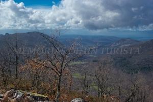 Vistas bajando del Pico Carbonero