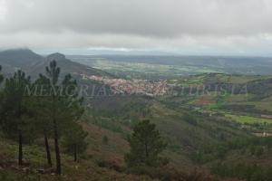 Vistas hacia Cañamero