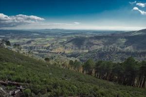 Vistas hacias las tierras de Cañamero