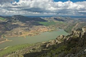 Vistas desde lo alto de Risco Viejo