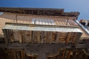 Casa de madera en la Calle Sevilla