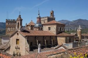 Vistas hacia el Monasterio de Guadalupe