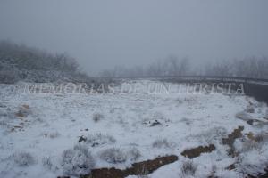 Nieblas en La Villuerca