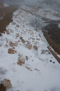 Suelo nevado