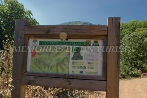 Cartel de Ruta Castaños Calabazas